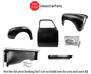 1952 1953 Chevy Truck Rh Ft Fender Inner Rocker Door Shell Bedside Rr Fender Kit