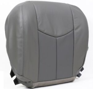 2003 2004 2005 2006 Gmc Sierra Yukon Denali Replacement Seat Cover Gray 2 Tone