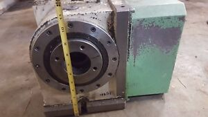 Rz 200 Tsudakoma Rotary Indexer Rz200 4th Axis With Tpc jr g3 Controller