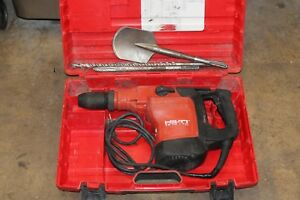 Hilti Te76 atc Rotary Hammer Drill With Bits And Case
