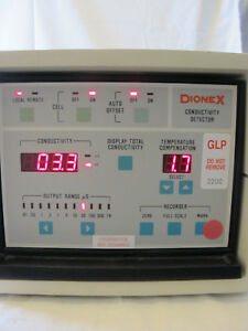 Dionex Cdm 2 Conductivity Detector Ion Chromatography