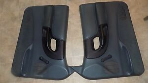 Ford Ranger Power Door Panels Teal Set 1995 2001 Oem Nice Very Clean