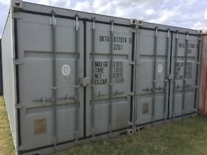 20 Ft Shipping Containers One Tripper Excellent Condition