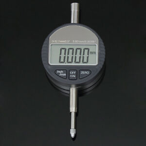 12 7mm 0 001mm Precision Lcd Electronic Digital Dial Indicator Gauge Meter