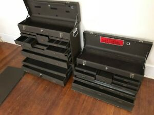 3 Kennedy Machinist Chests 526 8 11 Drawers Mc 28 Riser All 3 W Keys