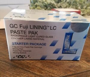 Gc Fuji Lining Lc Paste Pack Starter Package Glass Ionomer Material