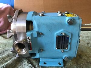 Waukesha 006u2 Positive Displacement Pump