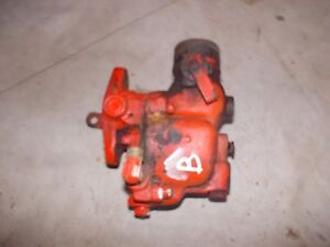 Allis Chalmers B Tractor Zenith Carburetor Assembly Ac