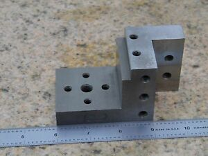 Angle Plate Compound Machinist Toolmaker Inspection Grind Mill