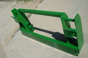Jd 600 700 Loader To Jd 500 Series Attachments