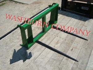 Hay Spear Fits John Deere 840 2 Spears 48 Long Spikes