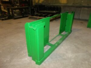 Skid Steer Loader Hitch To John Deere 600 700 Attachments