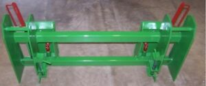 Ejd 600 700 Loader Adapter To Skid Steer Attachments With Latches