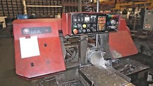 Amada Hfa 400w Automatic 16 X 16 Horizontal Band Saw Year 1994