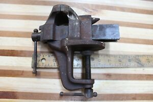 Vintage Stanley Victor No 765 Vise With Anvil Machinist Blacksmith Tool