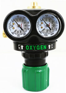 Professional Edge Oxygen Gas Welding Welder Regulator Pressure Gauge Victor Type