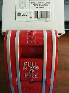 Brand New Est Siga 270 Fire Alarm Pull Station Edwards Systems Technology Ge