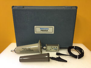 Tektronix P6015a 75 Mhz 20 Kv Rms 1000x Bnc m Voltage Probe Accy Tested