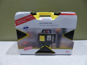 Leica Rugby 840 Rotary Laser Level
