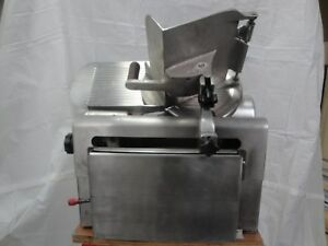 Globe Model 775 slicing Machine w automatic Feed for Deli Meat Cheese Slicer