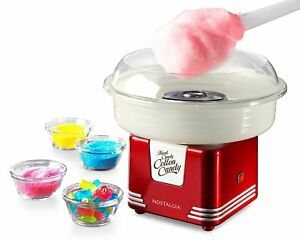 Cotton Candy Maker Electric Commercial Red Machine Kit Store Booth Vintage Sugar