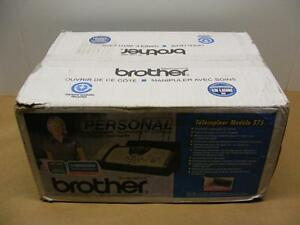 New Brother Fax 575 Plain Paper Fax Phone Copier