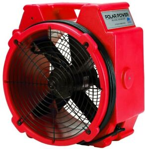 B air Pb 25 1 4 Polar Axial Blower Fan High Velocity Air Mover For Water Damage