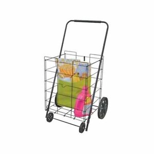 Howard Berger Shopping Cart Rolling Folding Collapsible Wheeled Grocery Laun