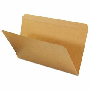 Universal Kraft File Folders Straight Cut Top Tab Legal Kraft 100 box