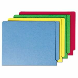 Smead Colored File Folders Straight Cut Reinforced End Tab Letter Assorte