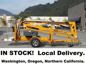 New 2018 Haulotte 4527a Towable Boom Lift Finance For 750 Per Mo Oac Biljax