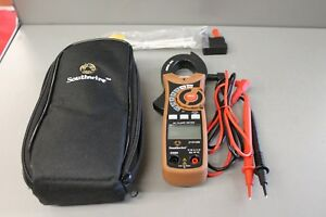 Southwire 21010n 400 Ac Cat Iii 600v True Rms Clamp Meter W Carrying Case