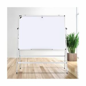 Zhidian Magnetic White Board With Stand dry Erase Board Aluminum Frame 48x36
