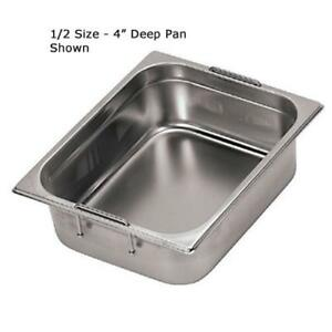 World Cuisine 14158 10 Fourth Size 4 In Deep Steam Table Pan