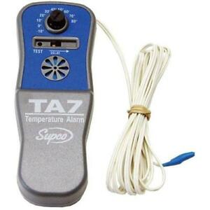 Commercial Battery Operated Temperature Alarm W 10 80 Range