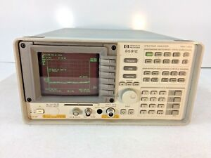Hp Agilent 8591e Spectrum Analyzer 9khz To 1 8ghz Tested Ships Today