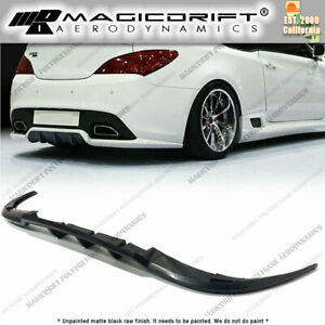 For 10 16 Hyundai Genesis Coupe Walker Style Rear Bumper Lip Diffuser Body Kit