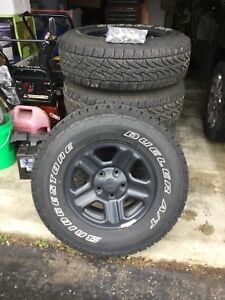 2016 Jeep Wrangler Unlimited Wheels And 5 Bridgestone A t Tires