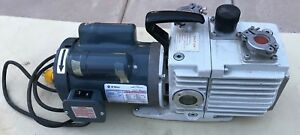 Leybold Trivac D8a Dual Stage Rotary Vane Mechanical Vacuum Pump