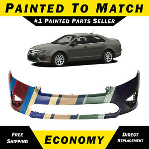 New Painted To Match Front Bumper Cover Fascia For 2010 2011 2012 Ford Fusion
