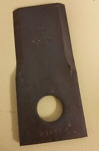 25 Replacement Disk Mower Knives By Tisco 853820