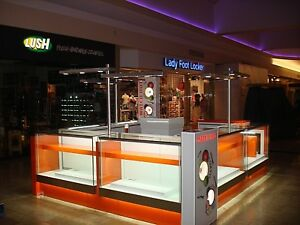Led Lighted Mall Location Kiosks For Sale
