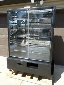 48 Dry Bakery Display Case Marco Commercial Donut Bread Bagel Cabinet 664
