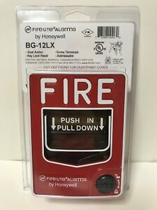 Fire Lite By Honeywell Bg 12lx new Addressable Manual Pull Station