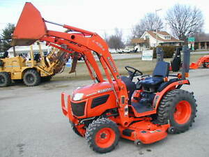 Kubota B2920 4x4 Loader Belly Mower Nationwide Shipping