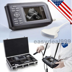 Portable Mini Full Digital Ultrasound Scanner Machine Convex Battery Carry Case