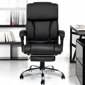 High Back Recliner Swivel Office Chair Executive Ergonomic Computer Desk Seat