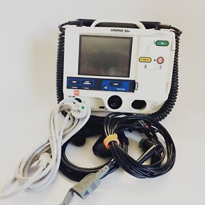 Physio Control Lifepak Lp20e Aed Pacing Patient Monitor W Warranty