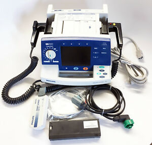 Philips M4735a Heartstart Xl With 3 lead Ecg Aed Pacing And Warranty