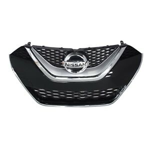 New Oem 2016 2018 Nissan Maxima Factory Grille With Emblem 62310 4ra0a